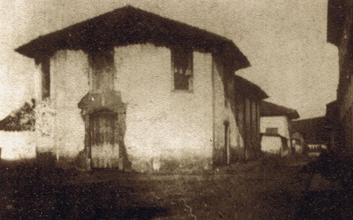 Taubaté em 1856 (Capela do Pilar). Acervo DMPAH