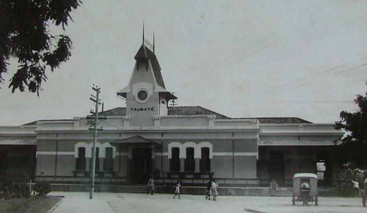 Estação Central do Brasil, em Taubaté. (MISTAU)