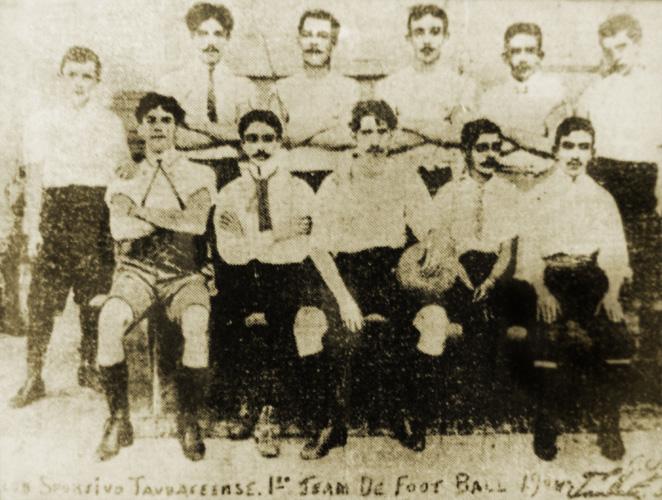 O Sport Club Taubateense, em 1904