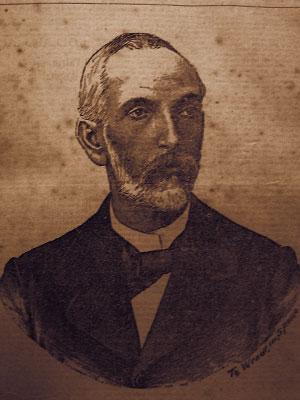 Coronel Gomes Vieira. Imagem publicada no jornal A Verdade de 11 de junho de 1903. Acervo DMPAH