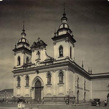 Catedral de São Francisco das Chagas, a Igreja Matriz de Taubaté, nos anos 1930