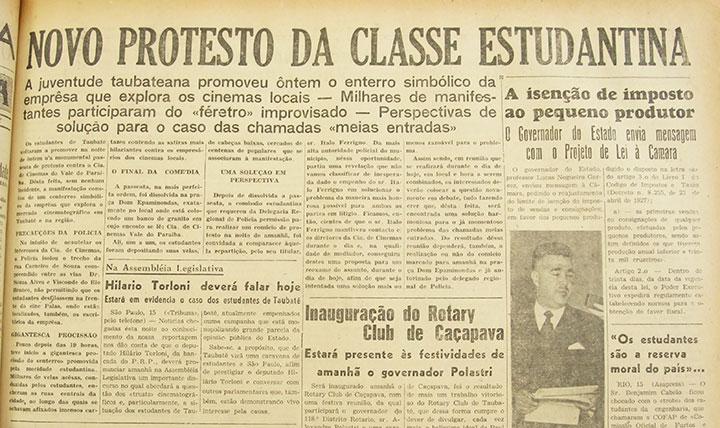 A Tribuna, 16 de maio de 1952