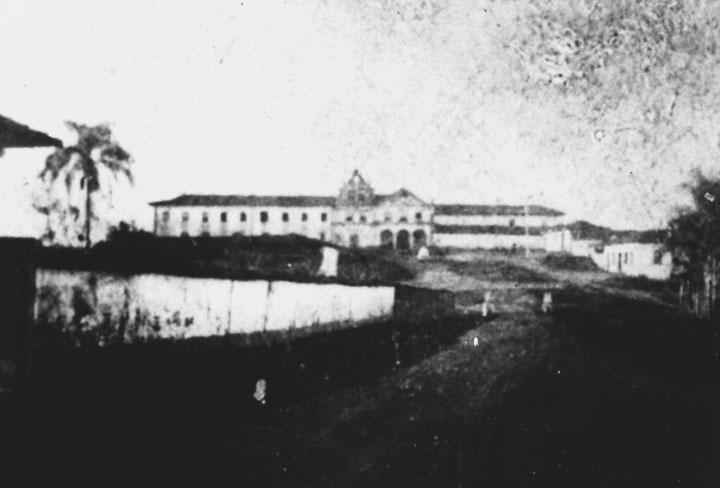 Convento de Santa Clara em 1856. Robin&Favreau - MISTAU