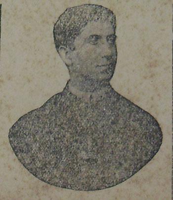 Cônego Nascimento Castro. Publicado no jornal O Astro de 25 de dezembro de 1905. Acervo DMPAH