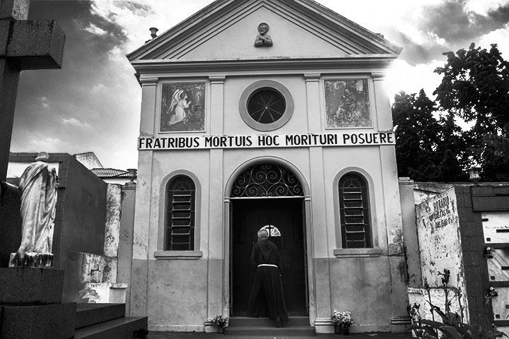 Mausoléu dos Franciscanos de Taubaté (foto: Angelo Rubim/Almanaque Urupês)