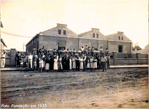 Fundação da Fábrica de Botões Corozita, em 1935. (Fonte: corozita.com.br)