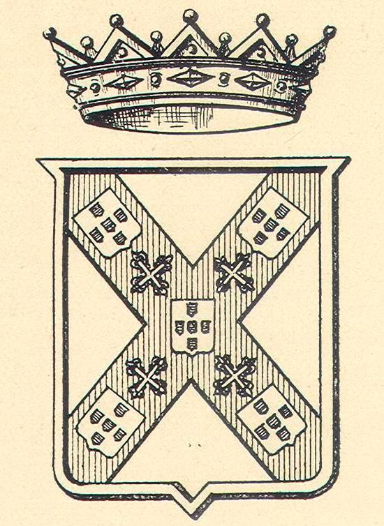 Brasão dos condes de Vimieiro (Benedito Calixto)