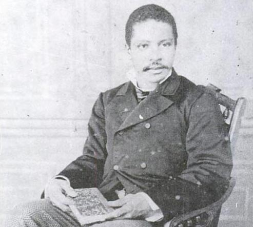 """Alfredo, aos 22 anos, com sua tese de conclusão do curso de medicina na Bahia (Fonte: """"Negro político, político negro"""", de Oracy Nogueira)"""