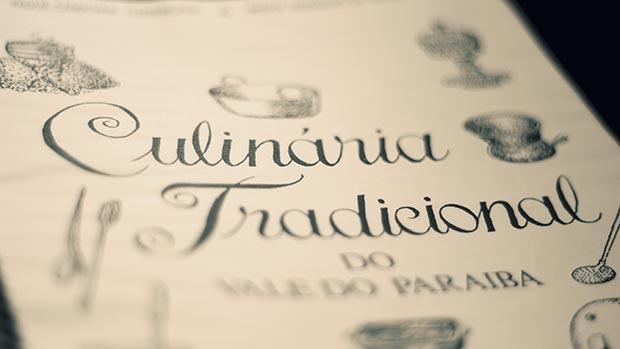 """Detalhe do livro """"Culinária Tradicional do Vale do Paraíba"""", de Paulo Camilher Florençano e Maria Morgado de Abreu"""