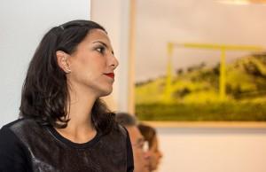 A galerista Mirian Badaró