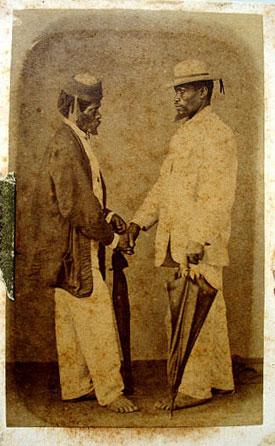 Escravos fotografados por Cristiano Junior