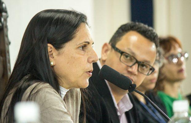 Martha Serra, secretária de Turismo e Cultura, também participou da audiência.