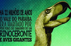 O Paraphysornis brasiliensis, maior predador da pré-história valeparaibana